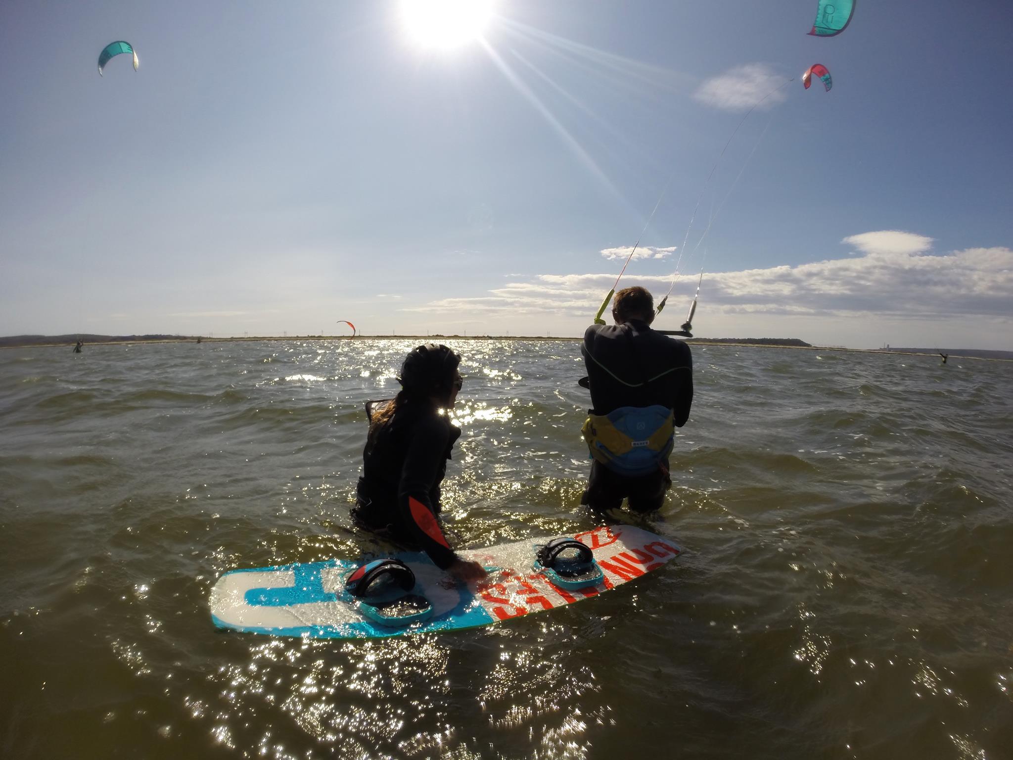 Activité nautique Narbonne: Kitesurf