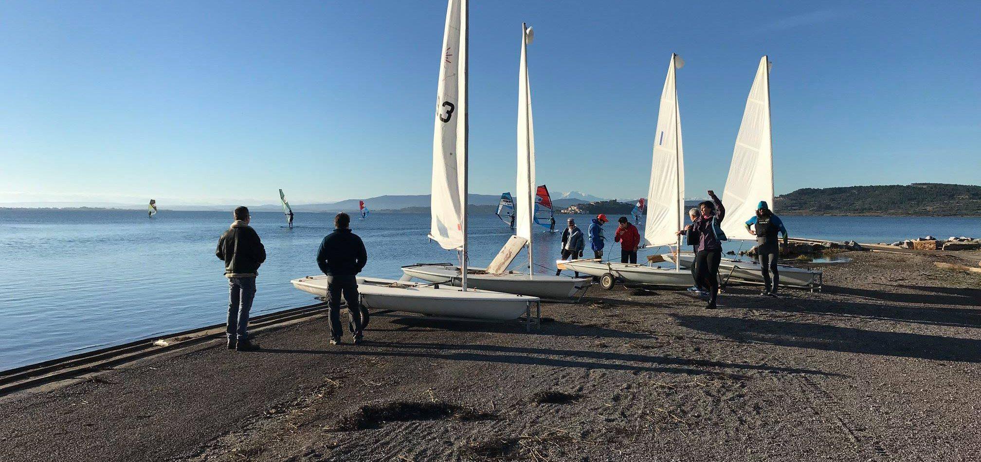 Activité nautique Narbonne: Laser